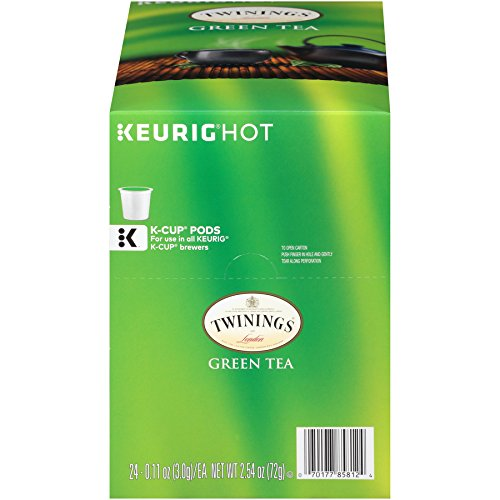 Twinings of London Green Tea K-Cups for Keurig, 24 Count (Best Keurig Green Tea)
