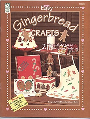 Easy Gingerbread Crafts: 20 Quick-to-Make Christmas Projects - Gingerbread House Felt