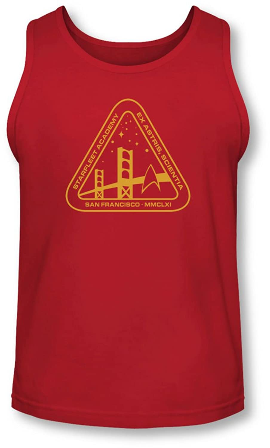 Star Trek - Mens Gold Academy Tank-Top