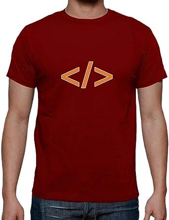 latostadora - Camiseta Programador Geek Code para Hombre Rojo XXL: fusionrj46: Amazon.es: Ropa y accesorios
