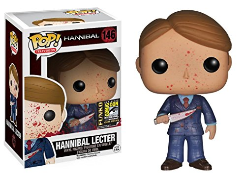 Sdcc 2014 Funko Pop Exclusive Tv  146 Hannibal Lecter  Blood Splattered