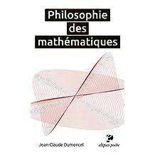 Philosophie des Mathématiques (poche)