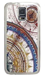 Abstract Circles Mosque Custom Samsung Galaxy S5 Case Back Cover, Snap-on Shell Case Polycarbonate PC Plastic Hard Case Transparent