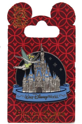 (Disney Pin #58797: Cinderella Castle - Tinker Bell - 2007)