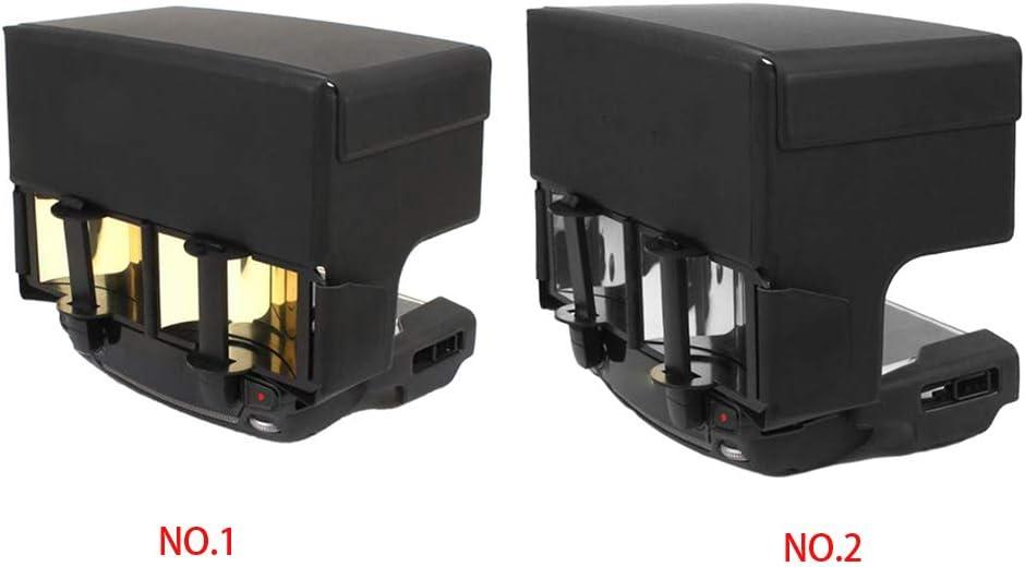 Arichtop 2 en 1 Antena Range Extender Controlador Remoto Parasol Parasol se/ñal Enhancer para dji Mavic Pro//para Spark//para Air Drone