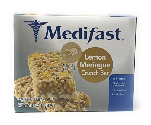 Lemon Pie Bars - Medifast Bars (Lemon Meringue Crunch Bar)