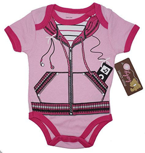 Price comparison product image Mon Cheri Baby iPod Girl Funny Baby Girl Boy Unisex Infant One Piece Novelty Funny Dress up Bodysuits(0-3)