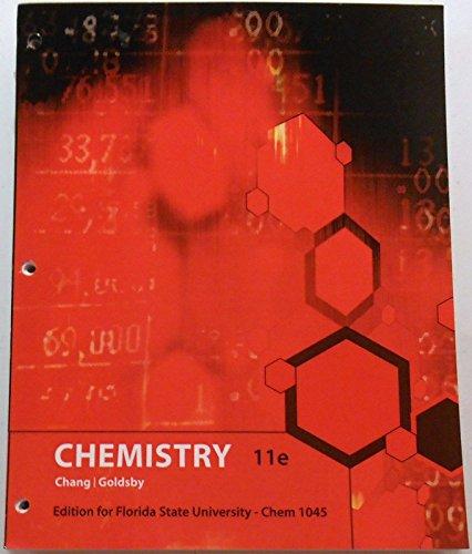 Chemistry: Florida States University Edition CHM1045