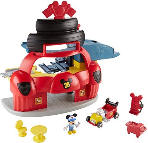 Fisher-Price Disney Mickey & the Roadster Racers, Roadster Racers Garage Playset Diggity Dog Toy