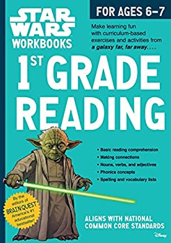 Star Wars Workbook: 1st Grade Reading (Paperback )