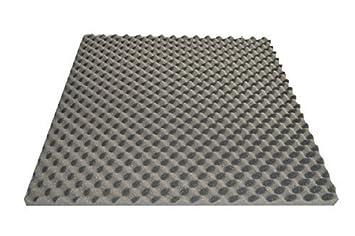 Placa de espuma corrugada, autoadhesivo, 50 x 50 x 3 cm aislamiento acústico Ton Studio: Amazon.es: Instrumentos musicales