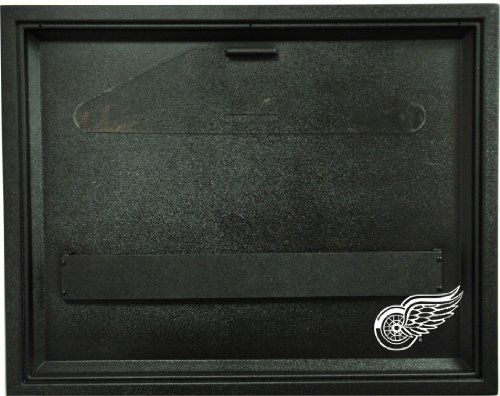 NHL Detroit Red Wings Liberty Value Hockey Jersey Display Case, Black by Caseworks