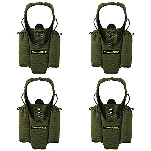 ThermaCELL Mosquito Repellent Appliance Holster, Olive, 4-Pack by Thermacell