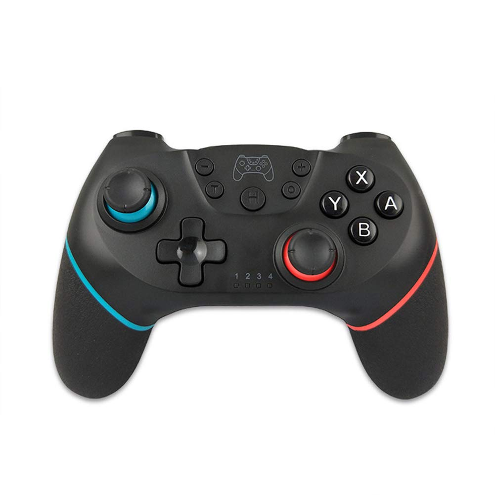 RONSHIN Wireless Controller,Bluetooth Wireless Gamepads Controller with Vibration 6-axis Sense for Switch Left red Right Blue Gifts for Boys by RONSHIN