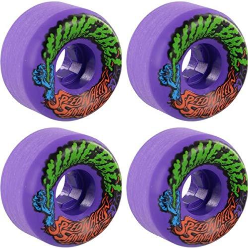 高品質の激安 Santa Cruz スケートボード スリムボール Vomits Santa ミニ パープル - スケートボードホイール B07P95TQNJ - 53mm 97a (4個セット) B07P95TQNJ, ビフカチョウ:651c6d27 --- mvd.ee