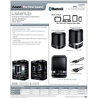 iSound Listen Up Wireless Bluetooth Speaker with Speakerphone (black)