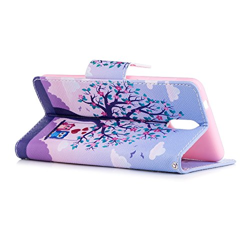 1 Fonction Support 3 PU Cartes deux Flip Porte avec 3 Wallet Housse Nokia Coque Cover Case Étui 1 Cuir BONROY 2018 Dragonne aigle pour Nokia Printemps 2018 Portefeuille wB6qEFZ