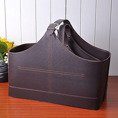 TRE leather storage baskets/ gift basket/ shopping basket/Christmas basket-D
