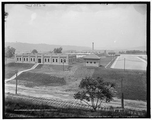 Infinite Photographs Photo: Cincinnati Water Works,Filtration Plant,Ohio,OH,Detroit Publishing Company,1900
