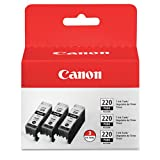 Canon PGI-220 Combo Pack - Triple Pack (Black)