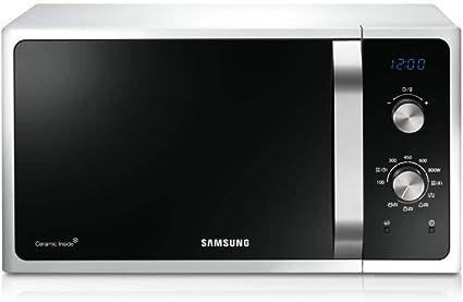 Opinión sobre SAMSUNG - MG28F303EAW - Grill Microondas - Mango blanco plateado - 28L - 900W - Independiente