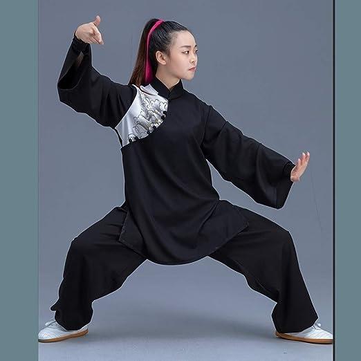 WXJWPZ Uniforme Tradicional Tai Chi Kung-Fu Senior/Puño De ...