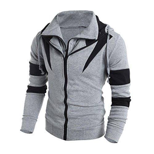 Men's Sweater,Neartime Winter Hoodie Man Hooded Sweatshirt Jacket Coat