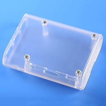 Sanzhileg ABS Material Transparente ABSV1 Cubierta de la Caja ...