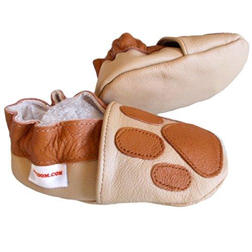 bbkdom, Mädchen Babyschuhe - Krabbelschuhe & Puschen  beige beige Pointures 17-18 (0 à 6 mois)a beige