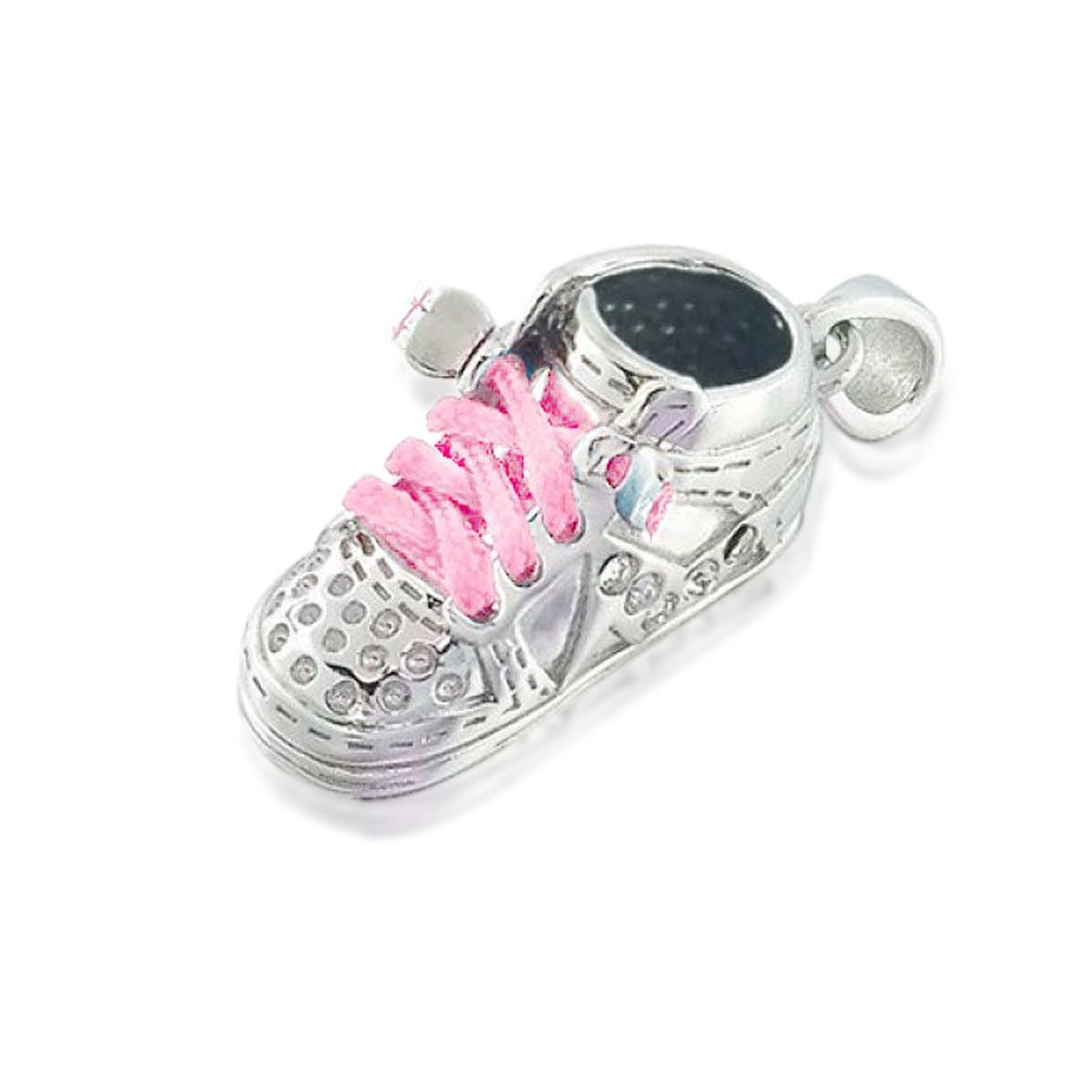 e105c65260db8 Personalized Sneaker Baby Shoe Charm Pendant Gift for New Mother ...