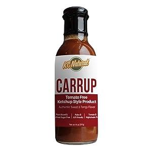 KC Natural - Carrup - No Tomato Ketchup - Paleo AIP Friendly - 14 oz