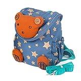 Babyrucksack Kindergartenrucksack Kindergartentasche Backpack Schultasche Kinder (blau)