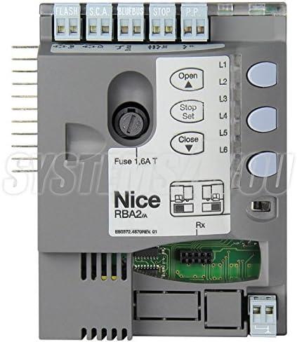 Central electrónica Nice RBA2/A para Robus RB350: Amazon.es: Bricolaje y herramientas