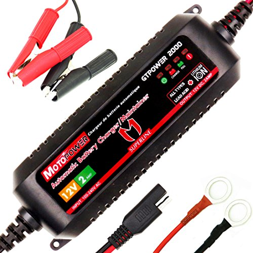 12V Lithium Motorcycle Battery - 1