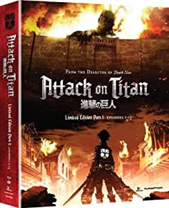 Attack on Titan, Part 1 (Limited Edition Blu-ray / DVD Combo)