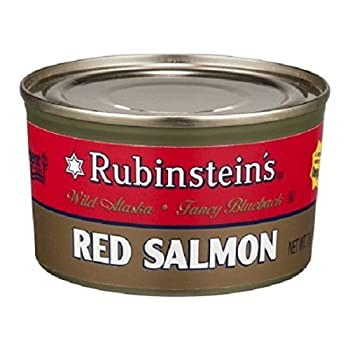 Rubinsteins Salmon Red Sockeye Canned Salmon