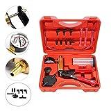 Ketofa Brake Bleeder Kit and Hand Held Vacuum Pump Tester Set Compatible Automotive Tuner Tools Adapters Case