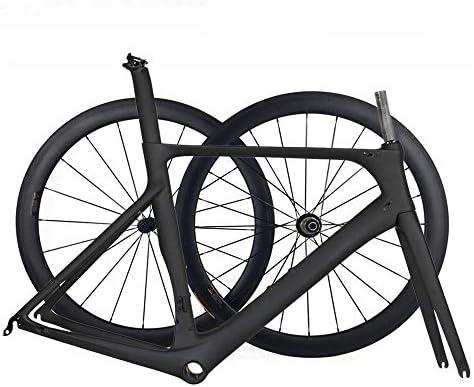 TQ Nuevo Cuadro y Ruedas de Bicicleta de Carretera Aero Full ...