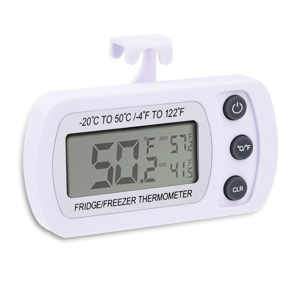 Mudder Wireless Digital Refrigerator/ Freezer Thermometer