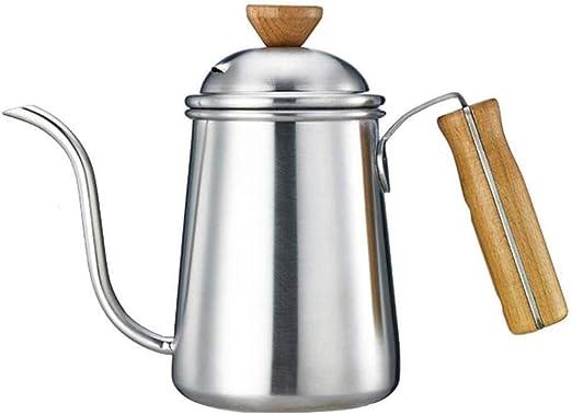 Lcjtaifu Hervidor De Café De Acero Inoxidable, Cafetera De Pico De ...