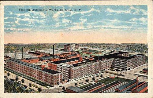 Franklin Automobile Works Syracuse, New York Original Vintage Postcard ()