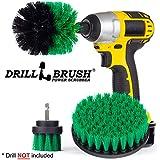 Drillbrush New Quick Change Shaft Bathroom Power Scrub Brush Tile and Grout Kit