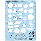amazon com helix geometry shape template paper templates