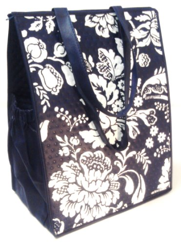 Insulated Large Tote Bag - Insulated Picnic Bag - Zip Top & Double Handles