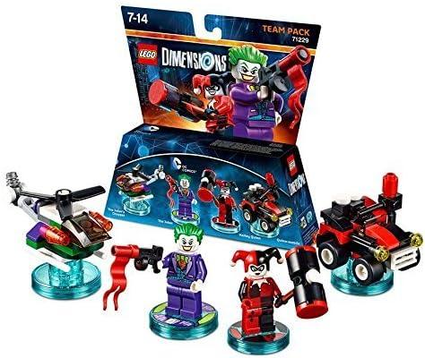 LEGO Dimensions Team Pack: DC Joker/Harley Quinn by LEGO: Amazon.es: Juguetes y juegos
