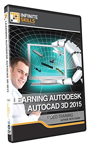 Learning Autodesk AutoCAD 3D 2015 - Training DVD by Infiniteskills