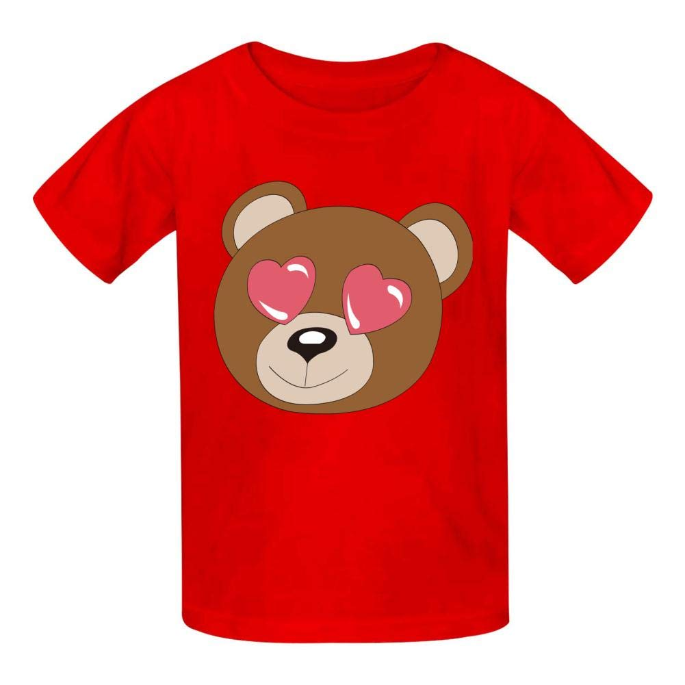 Cool Animal Childrens Boy 100/% Cotton Print Short Sleeve T-Shirt
