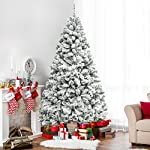 Best-Choice-Products-6ft-Premium-Snow-Flocked-Hinged-Artificial-Christmas-Pine-Tree-Festive-Holiday-Decor-wSturdy-Metal-Stand-Green