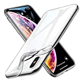 ESR iPhone Xs Max Case, [0.98mm Thin] ESR Slim Clear Soft TPU Case Protective Cover [Anti-Scratch][Slim Fit] Compatible with 6.5 inch iPhone Xs Max (Released in 2018) - Clear