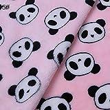 wanshenGyi Pet Blanket, Cartoon Elephant Panda Warm Soft Flannel Carpet Cat Dog Puppy Pet Blanket Quilt - 2020cm Panda Pink#, Home Life, Travel